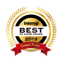 Interop BEST OF SHOW AWARD 2019 「People's Choice部門」グランプリ